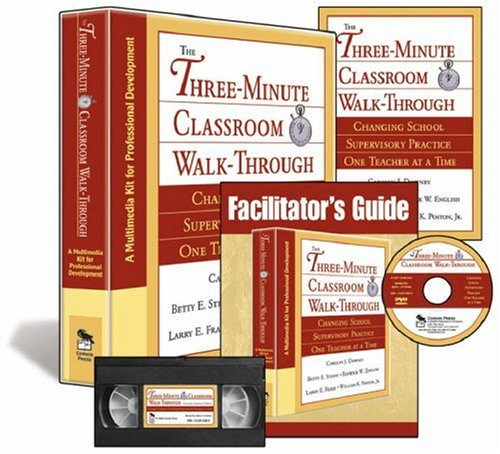 The Three-Minute Classroom Walk-Through (Multimedia Kit): A Multimedia Kit for Professional Development