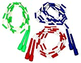 Cintz Set of 3, Skipping Ropes/Jump Ropes. Multiple, Colors May Vary (8 ft)
