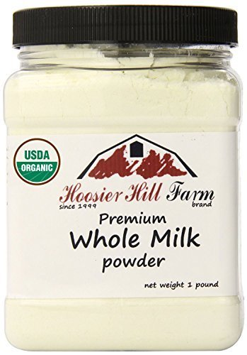 Hoosier Organic Whole Powdered Milk