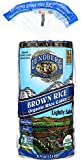 lundberg brown rice - Lundberg Family Farms Organic Brown Rice Cakes, Lightly Salted, 8.5 Ounce (Pack of 12)