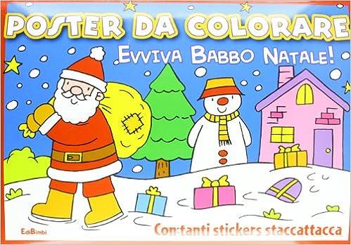 Amazon It Evviva Babbo Natale La Slitta Di Babbo Natale Poster Da
