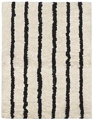 Cala Living Alfombra, Algodón, Beige y Negro, 60x20x20 cm: Amazon.es: Hogar