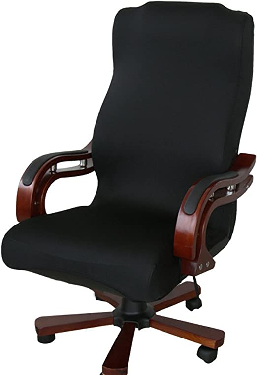 Swivel Chair Seat Cover Computer Armchair Protector Slipcover Office Chair Cover