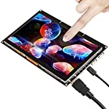GeeekPi 7 inch 1024x600 Capacitive Touch Screen HDMI Monitor TFT LCD Display Raspberry Pi/Beagle Bone Black/Windows 10 MacBook Pro.