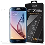 Galaxy S6 Screen Protector, Obliq [Tempered Glass] Samsung Galaxy S6 Protector [Slim 0.33T + 9H] Rounded Edges - [Zeiss Pure Glass] Premium S6 Tempered Glass Galaxy S6 screen - for Samsung Galaxy S6 2015 Model