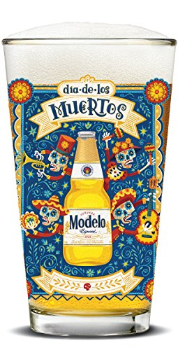 Modelo Especial Day of the Dead Mariachi Pubs (Set of - Modelo Especial Glasses