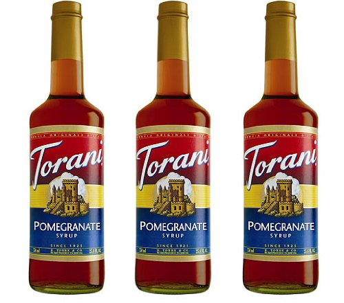 Torani Pomegranate Syrup 750-ML (Pack of - Pomegranate Monin