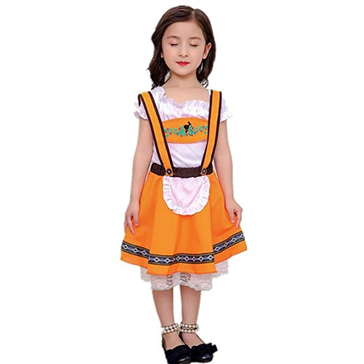 175c40fda479e Amazon.com: MiyaSudy Kids Girl Halloween Fancy Party Dress Costume ...