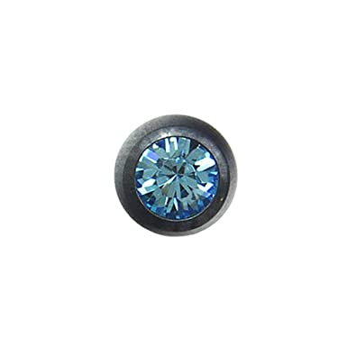 Blue Banana Body Piercing Bola Enjoyada Titanio Negro 3mm (Agua): Amazon.es: Joyería