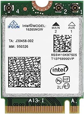 Richer-R Tarjeta WiFi inalámbrica Bluetooth 4.2 de Banda ...
