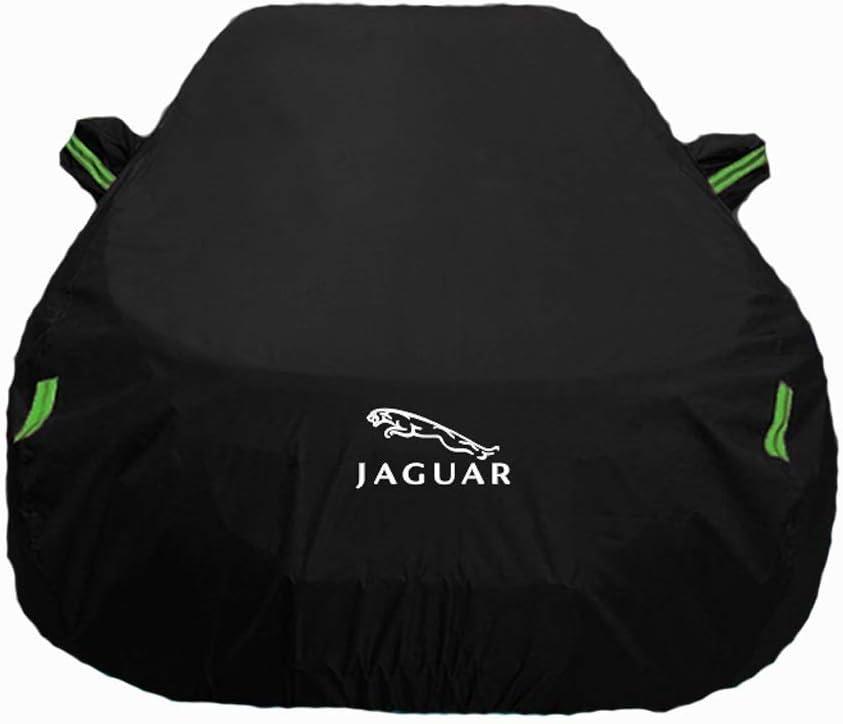 Color : Black, Size : XE KaiKai Color : Black Car cover Jaguar F-pace Car Clothing XFL XE XJ Special Car Cover XKR F-type Sun Protection Rain Oxford Car Cover Outdoor car cover