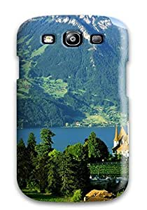 Fashion Protective Luxury Travel In Switzerland Case Cover For Galaxy S3