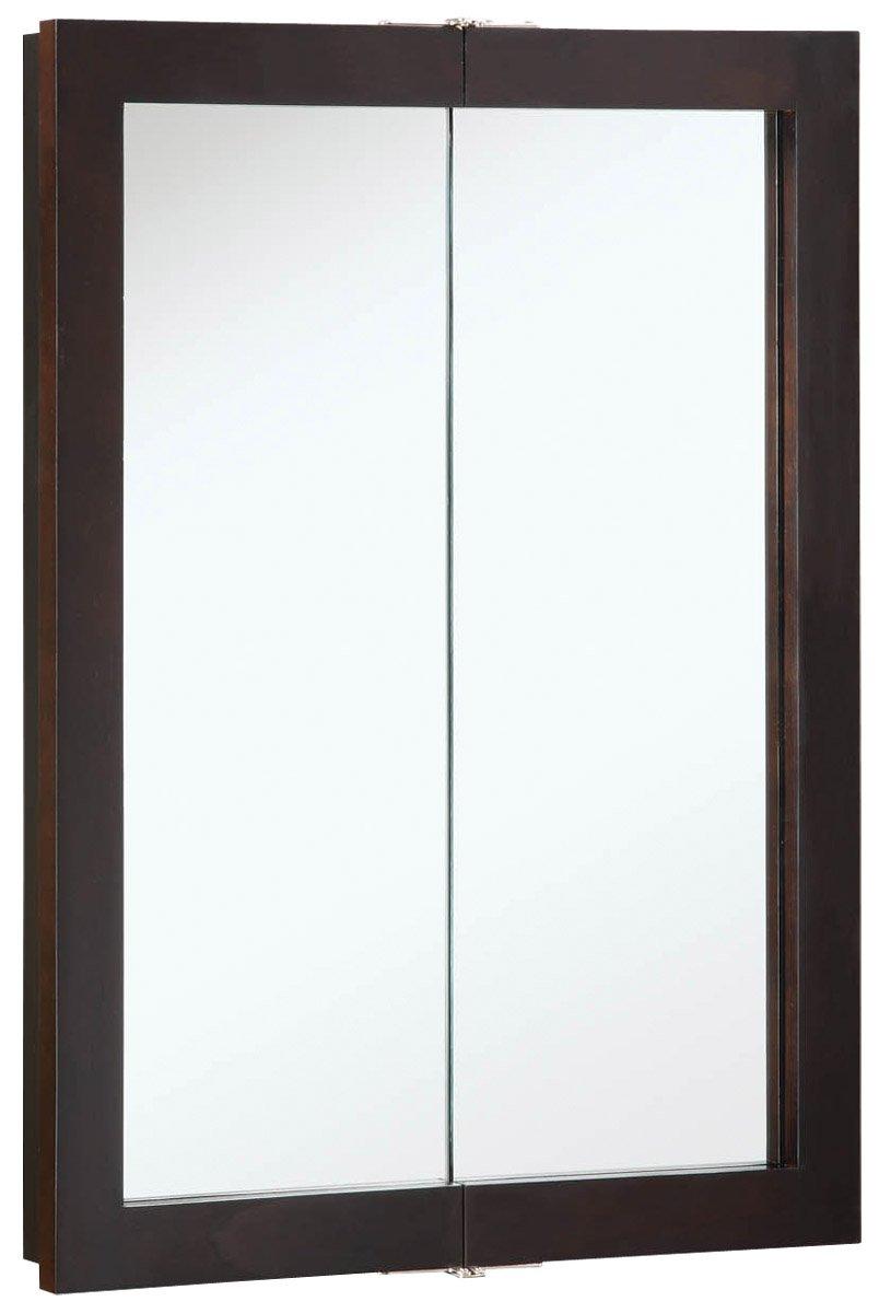 Design House 541334 Mirrors Medicine Cabinets, 24 W x 30 H, Espresso