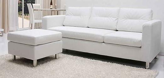 Leader Lifestyle Osaka para sofá o Chaise de piel sintética ...