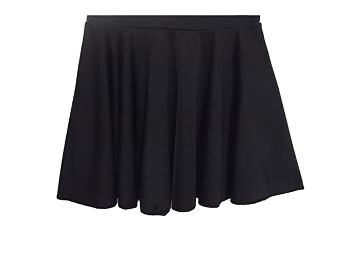 bcf210361bfb New girls roch valley circular dance skirt/ballet skirt age 2-13yrs  pink/black/red/purple/kingfisher/white/raspberry: Amazon.co.uk: Clothing