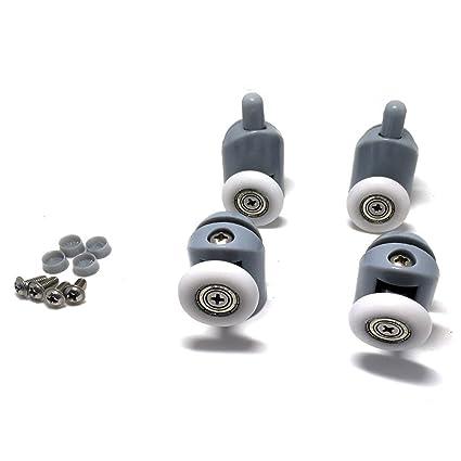 5x Partiality Shower Door ROLLERS //Runners//Wheels//Pulleys diameter 19//23//25//27mm
