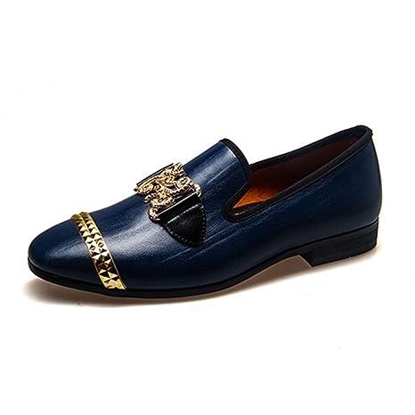 MMJ Zapatos de los Hombres, Nuevo Hombre Flecos Zapatos Casuales Wild England Zapatos Transpirables Slip