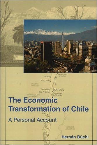 The Economic Transformation of Chile: A Personal Account: Hernan Buchi: 9780557159666: Amazon.com: Books