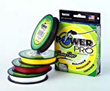 POWER PRO Powerpro Braided Spectra Fiber Fishing Line Moss Green (300 Yd/10-Lb Test)