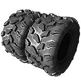 Set of 2 18X9.5-8 Rear ATV Tires 18x9.5x8 4PR All Terrain Sport UTV Tires 4 ply 18x9.5/8 Z-124
