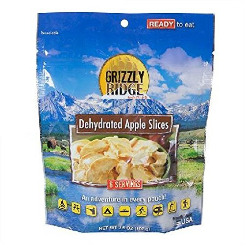 Stansport Grizzly Ridge Apple Slices Pouch, 3.598 oz