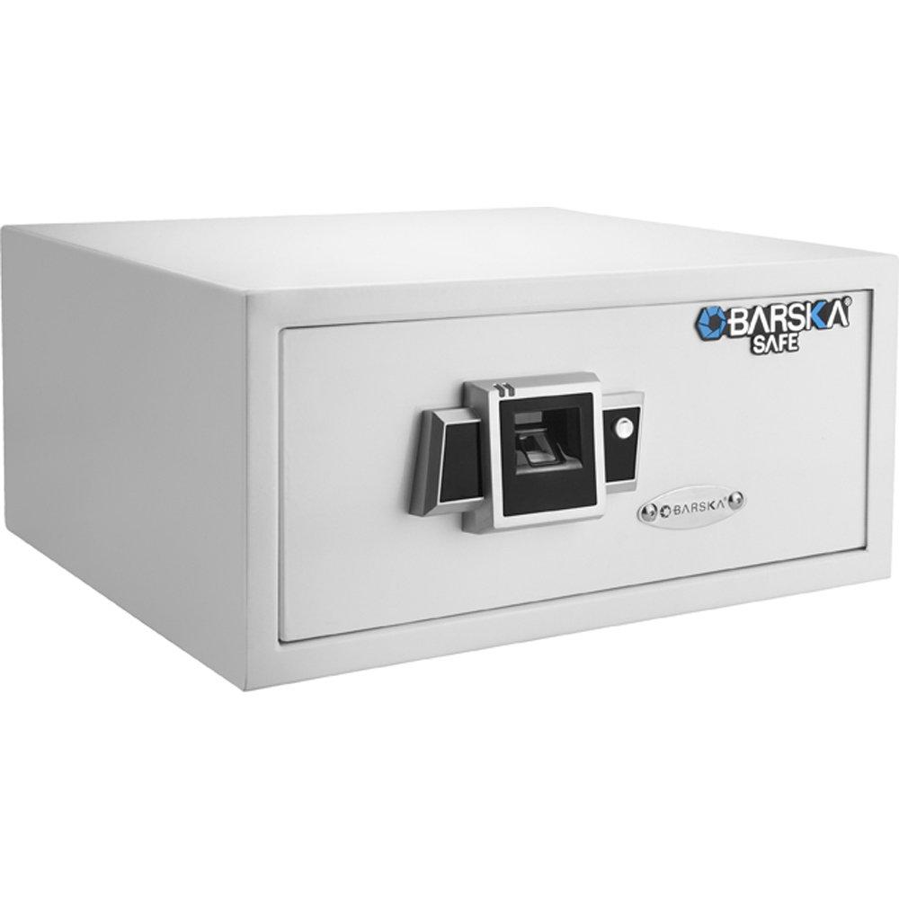 Barska BX-300 Biometric Fingerprint Safe, White