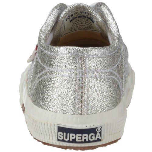 Superga 2750 Lameb, Zapatillas de Tela Infantil Plateado (Silber 031)