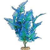 Imagitarium Silk Fern Blue Aquarium Plant, Large