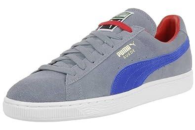 472169004d539a Puma Suede Classic RTB Herren Sneaker Schuhe Leder grau blau 356850 ...