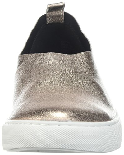 Kenneth Cole New York Kvinna Kathy Slip Stretch Övre Sneaker Ökade Guld