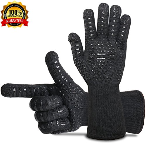 rubber bbq gloves - 8