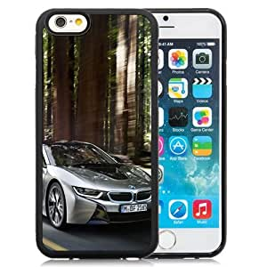 New Personalized Custom Designed For iPhone 6 4.7 Inch TPU Phone Case For 2015 BMW i8 Silver Phone Case Cover