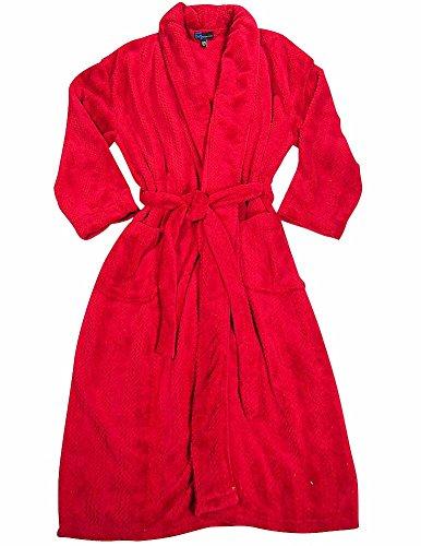 Majestic International - Mens Long Sleeve Microfiber Robe 41ab95784