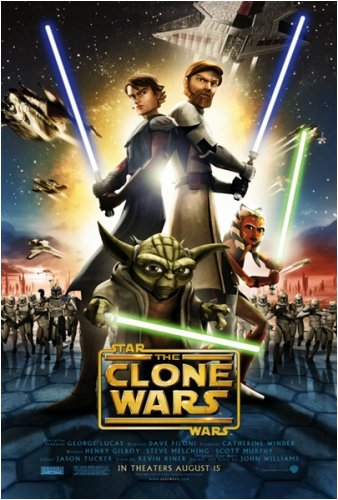 (Star Wars: The Clone Wars - Movie Poster (Regular Style) (Size: 27'' x 40'') )