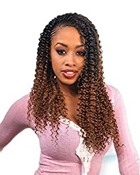 "WATER WAVE 22"" (1B Off Black) - Freetress Synthetic Bulk Braiding Hair"