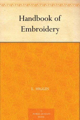 - Handbook of Embroidery