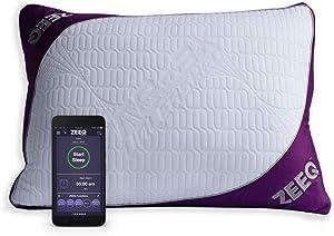 ZEEQ Smart Pillow - Track Sleep, Stream Audio, Smart Home Connected for Home Automation (ZEEQ Smart Pillow)