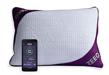 ZEEQ Smart Pillow - Track Sleep, Stream Audio, Smart Home Connected for  Home Automation (ZEEQ