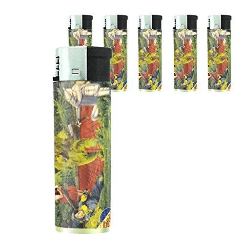 (Judy Garland 1939 Wizard Of Oz Lighter Set of 5 Pieces)