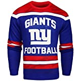 FOCO New York Giants Ugly Glow In The Dark Sweater - Mens - Mens Large
