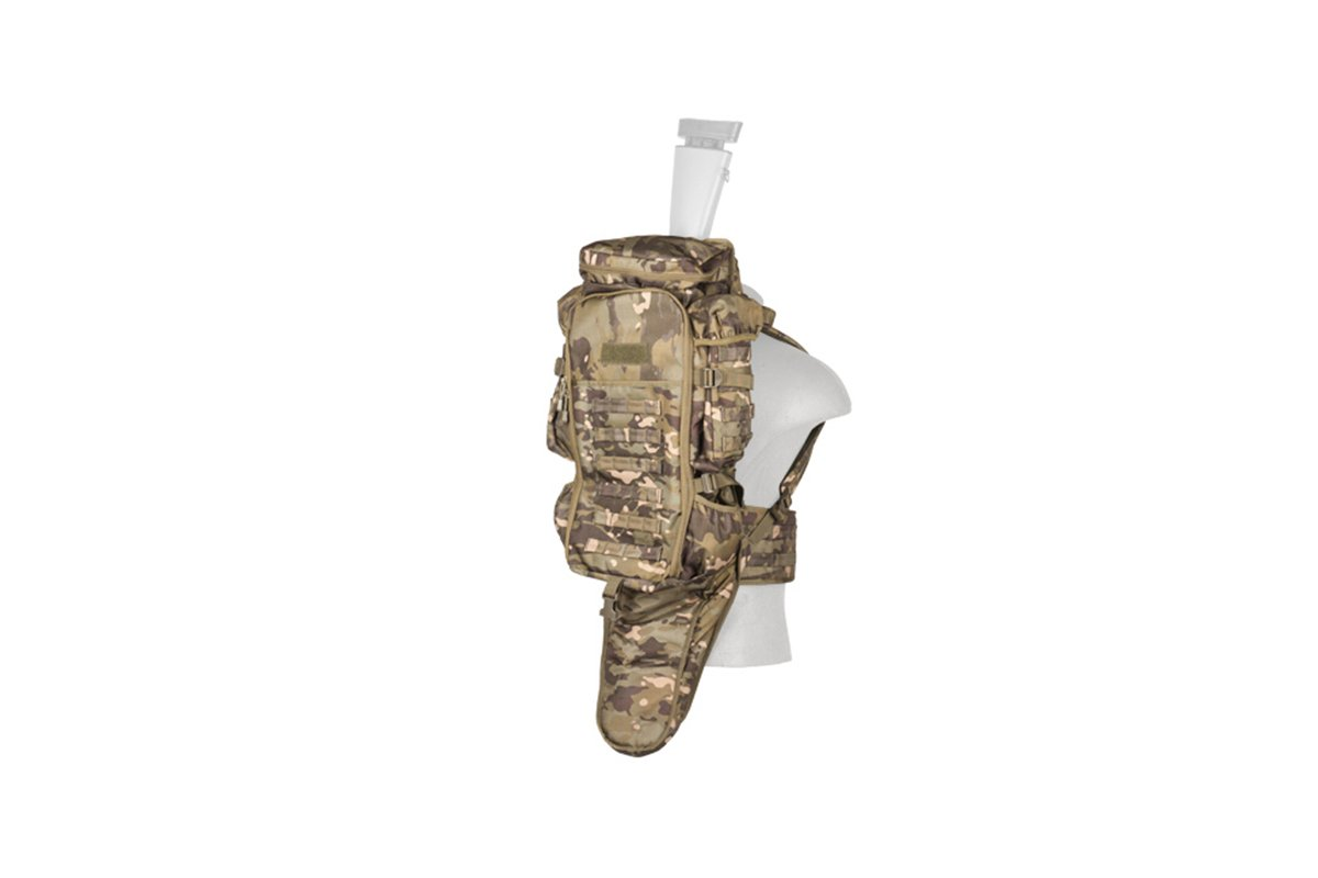Lancer Tactical Rifle Backpack (Camo Tropic) by Lancer Tactical