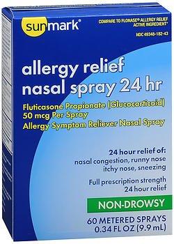 Sunmark Allergy Relief Nasal Spray 24 hr - .34 oz