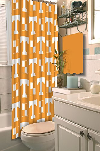 Vols Tennessee Drape - The Northwest Company Tennessee Volunteers Shower Curtain