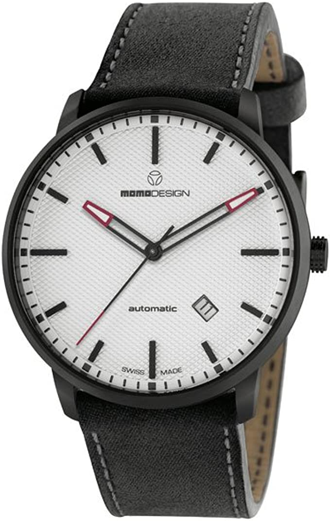 Momo Design Essenziale Automatic Uhr, ETA 2824, 42,5 mm, 5 atm, MD6004BK-22