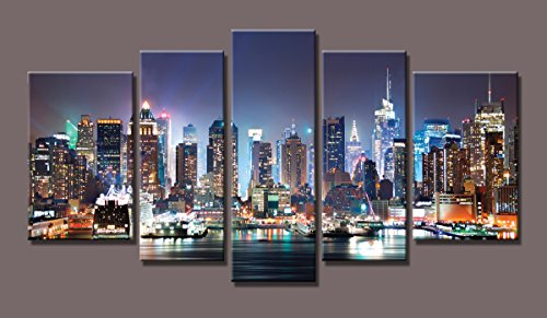 5 panel new york canvas - 9