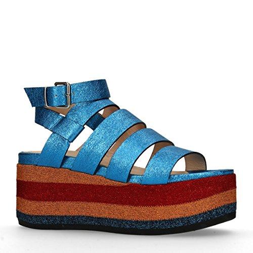 Sacha Damen Sandalen Blau