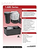 Little Giant 550521 1-ABS Discharge Shallow Pan