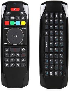 MX Kingdom - Mando a Distancia inalámbrico (2,4 G, retroiluminado, 3 giroscopios y Mando a Distancia de 3 Gsensores, para Ordenador, Google Android TV Box Netbook Projector PC Smart TV): Amazon.es: Electrónica