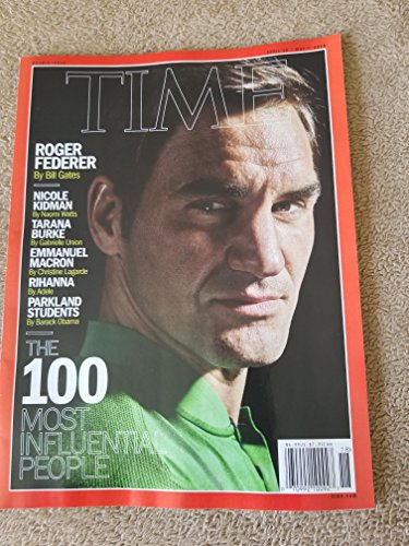 Time Mags Roger Federer Cover 100 Most Influential People-Issue 18