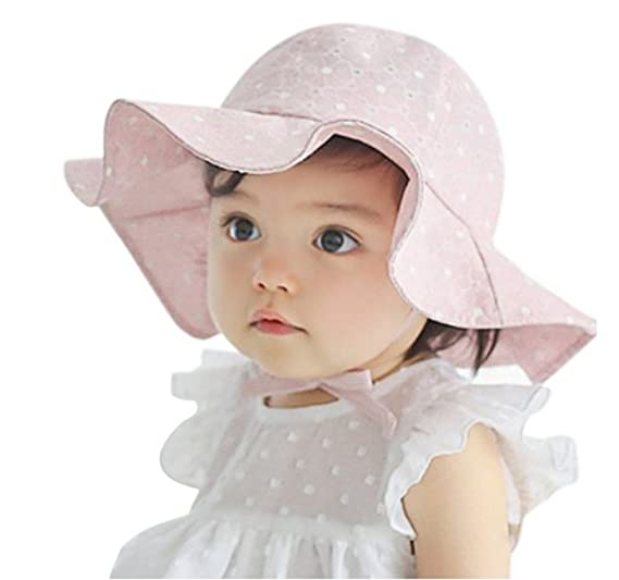 Amazon.com  Baby Toddler Kids Sun Hat 6e50476bf19d